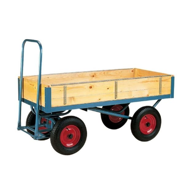 Heavy Duty Turntable Truck With Slide In Sides